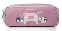 Детский пенал Land Rover Kids Pen Case, Pink/Grey