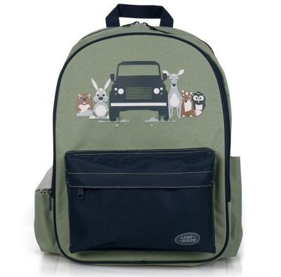 Рюкзак для девочек Land Rover Boy's Backpack, Navy/Green