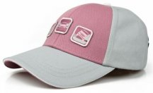 Детская бейсболка Land Rover Kid's Cap, Off Road, Pink/Grey