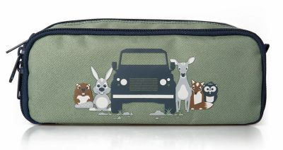 Детский пенал Land Rover Kids Pen Case, Navy/Green