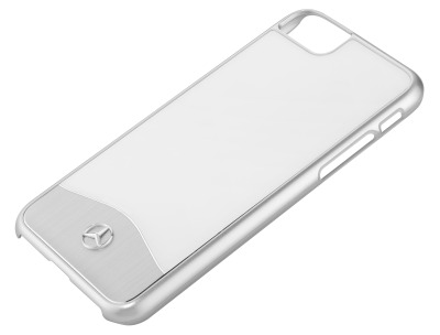 Чехол для iPhone 7 Mercedes-Benz Cover for iPhone® 7, She's Mercedes, White/Silver