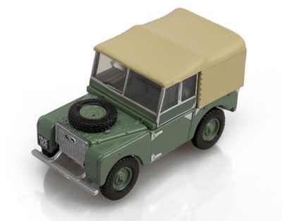 Модель автомобиля Land Rover Series I HUE, Scale 1:76, Green