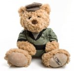 Мягкая игрушка Land Rover HUE Teddy Bear, Golden Brown