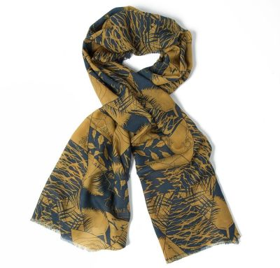 Шарф Land Rover Unisex Heritage Scarf - Brown/Navy