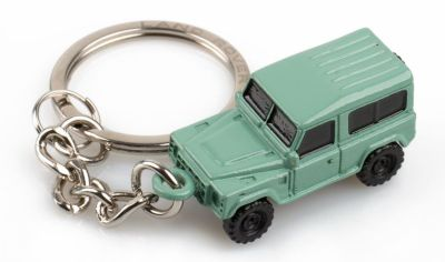 Стальной брелок Land Rover Defender Keyring, Green