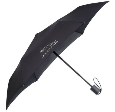 Складной зонт Jaguar Pocket Umbrella Black 2017