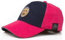Детская бейсболка Jaguar Kids Baseball Cap, Navy/Pink
