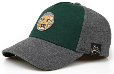 Детская бейсболка Jaguar Kids Baseball Cap, Grey/Green