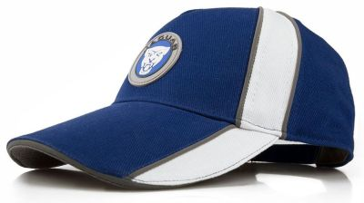Бейсболка Jaguar Growler Graphic Cap, Blue/White