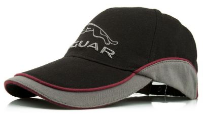 Бейсболка Jaguar Leaper Logo Cap, Black/Grey