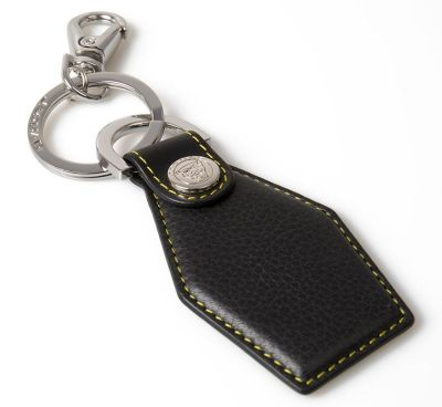 Кожаный брелок Jaguar Ultimate Keyring, Black