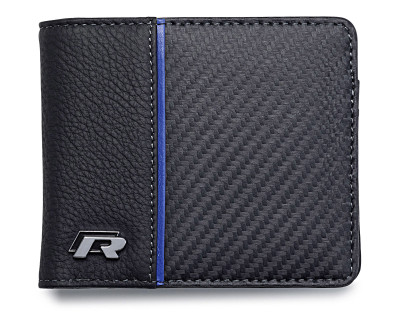 Кожаный кошелек Volkswagen R Collection Wallet, Black