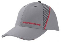 Бейсболка Porsche Baseball Cap, Grey/Red, Racing Collection