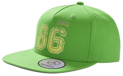Детская бейсболка Mercedes-Benz Children's Flat Brim Cap, Green
