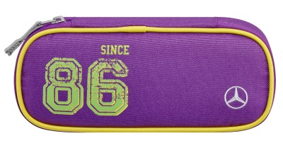 Детский пенал Mercedes-Benz Pencil Case, Kids, Purple Lemon
