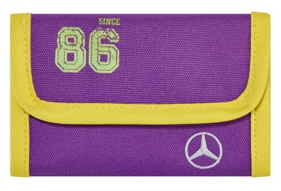 Детский кошелек Mercedes-Benz Wallet, Kids, Purple Lemon