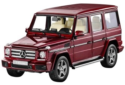 Модель Mercedes-Benz G-Class, W463, Model year 2015, Thulite Red, 1:18 Scale