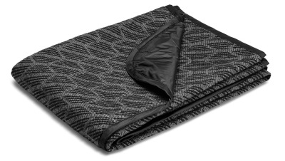 Покрывало Mini Blanket Signet, Black/Grey
