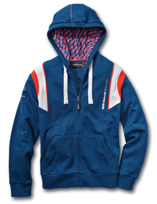Куртка унисекс BMW Motorrad Motorsport Hooded Jacket, Unisex, Blue