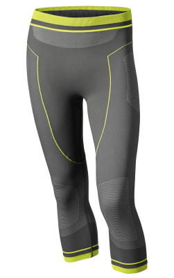 Мужские термоштаны BMW Motorrad Men's Summer Functional Undergarments Unisex, 3/4 Pants, Gray