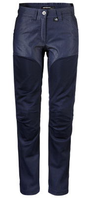 Женские мотоштаны BMW Motorrad Ladies Pants, Venting, Denim