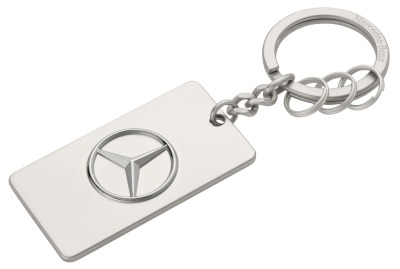 Брелок Mercedes-Benz Key Ring Trucks, Diecast Zinc, Silver