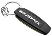 Брелок Mercedes-Benz Key Ring, AMG GT R, Black/Silver/Green