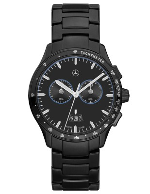 Мужские наручные часы-хронограф Mercedes-Benz Men's Chronograph Watch, Mercedes-Benz, Black Edition