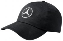 Бейсболка унисекс Mercedes-Benz Baseball Cap, Original Star 2017, Black