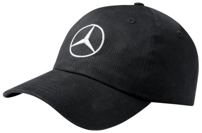 Бейсболка унисекс Mercedes-Benz Baseball Cap, Original Star, Black, 2018