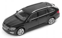 Модель автомобиля Skoda Superb Combi III, 1:43 scale, Magic Black