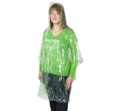 Дождевик Skoda Motorsport Raincoat