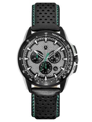 Мужские наручные часы - хронограф Mercedes-Benz Men's Chronograph Watch, F1 Motorsports