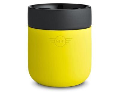 Чашка Mini Cup, Grey/Lemon