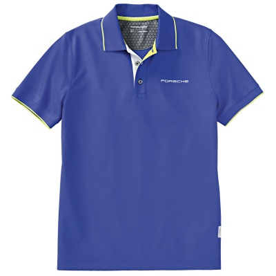 Мужское поло Porsche Men's Polo Shirt - Sport, Aqua Blue
