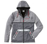 Куртка-ветровка унисекс Porsche Unisex Windbreaker Jacket, Racing, Grey