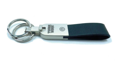 Кожаный брелок Volkswagen Tough Work Leather Key Chain