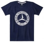 Мужская футболка Mercedes Men's T-shirt, Navy Blue, Classic