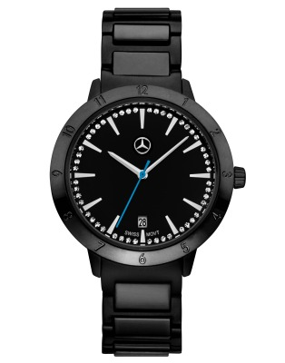 Женские наручные часы Mercedes-Benz Women's Watch, Black Edition