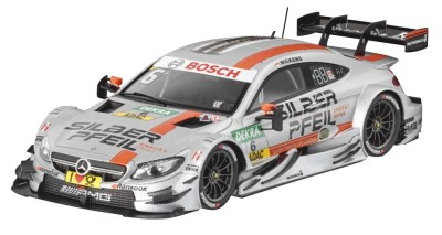 Модель Mercedes-AMG C 63 DTM, 2016, Team SILBERPFEIL Energy, Robert Wickens, Scale 1:43