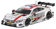 Модель Mercedes-AMG C 63 DTM, 2016, FREE MEN's WORLD, Esteban Ocon, Scale 1:43
