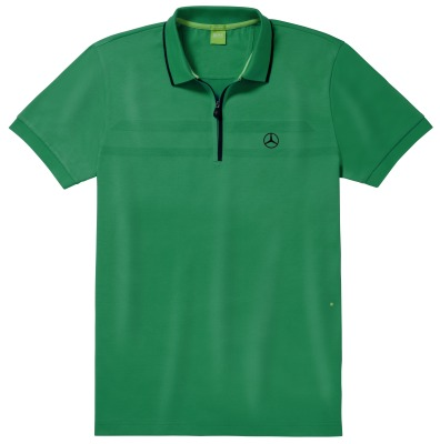 Мужская рубашка-поло Mercedes-Benz Men's Polo Shirt, Hugo Boss, Green