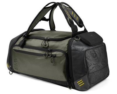 Спортивная сумка BMW Active Sports Bag, Functional, Large, Anthracite/Olive