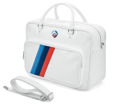 Спортивная сумка BMW Motorsport Heritage Sports Bag, White
