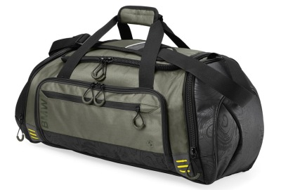 Спортивная сумка BMW Active Sports Bag, Functional, Anthracite/Olive