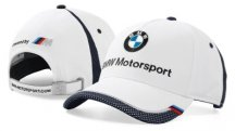 Бейсболка BMW Motorsport Collectors Cap, Unisex, White