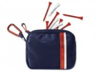 Сумочка для ти BMW Golfsport Tee Bag, Navy Blue