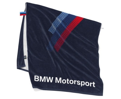 Банное полотенце BMW Motorsport Towel, Team Blue