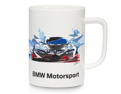 Кружка BMW Motorsport Mug, 450 ml., White
