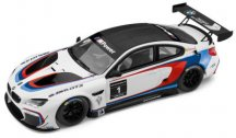 Модель BMW M6 GT3 (F13), White, Scale 1:18